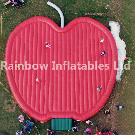 Factory Price Inflatable Pumpkin Pad/ Inflatable Jumping Pillow for Ourdoor/Inflatable Jump Pad