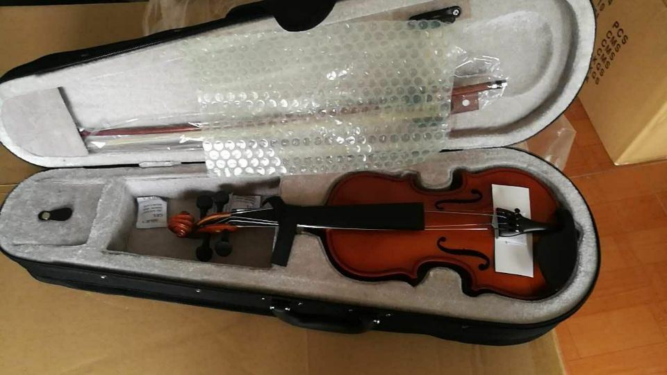Music Toy Musical Instrument (1/2 3/4 4/4) Student Quality Electric Violin