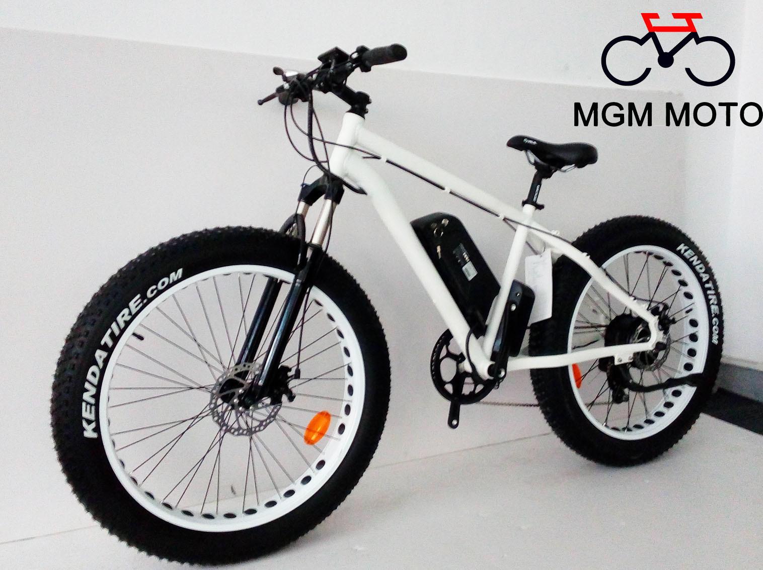 Fat Tire Big Power Mountain Snow Electric Bike