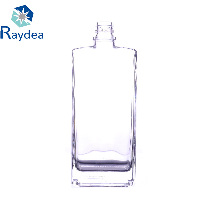 500ml Super Flint Vodka Glass Wine Bottle