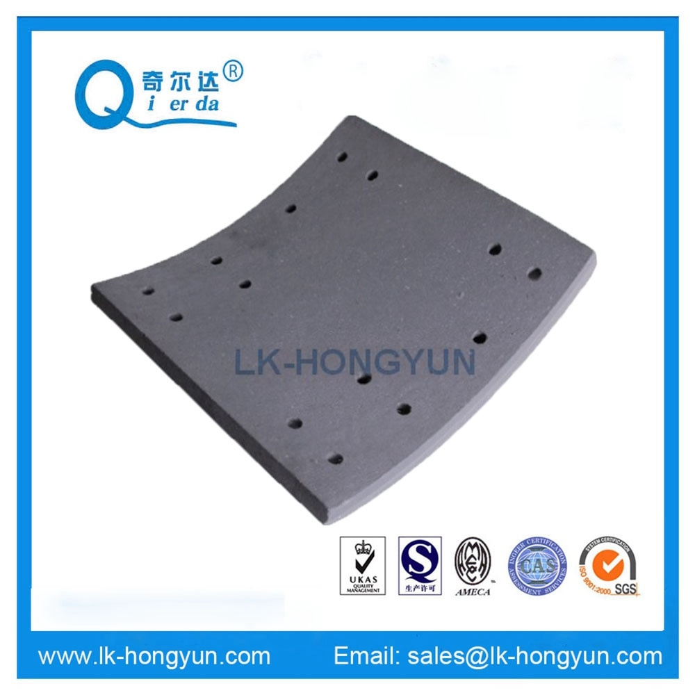 Semi Metallic High Quality 4707 Brake Lining