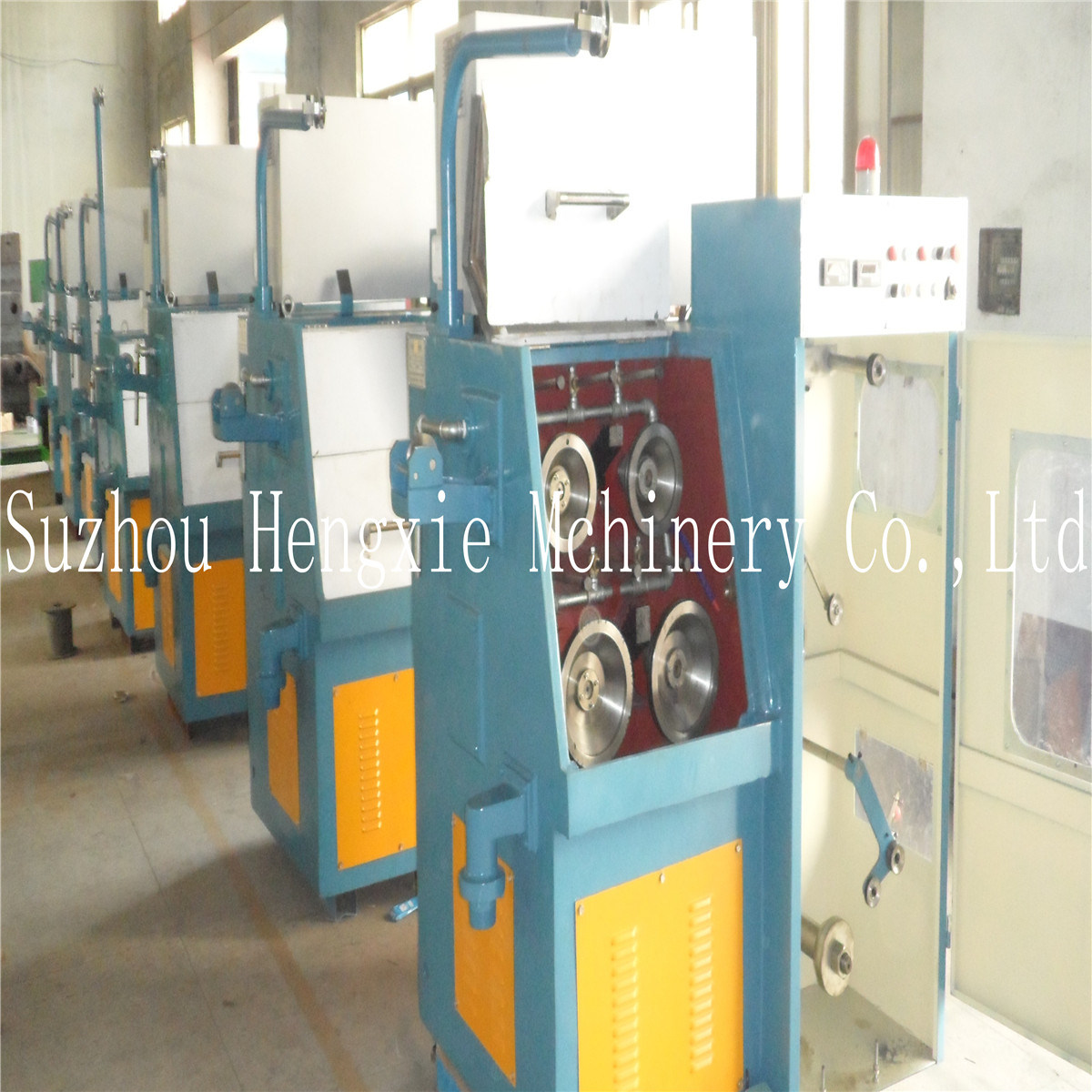 Fine Copper Wire Drawing Machine (22 DW)