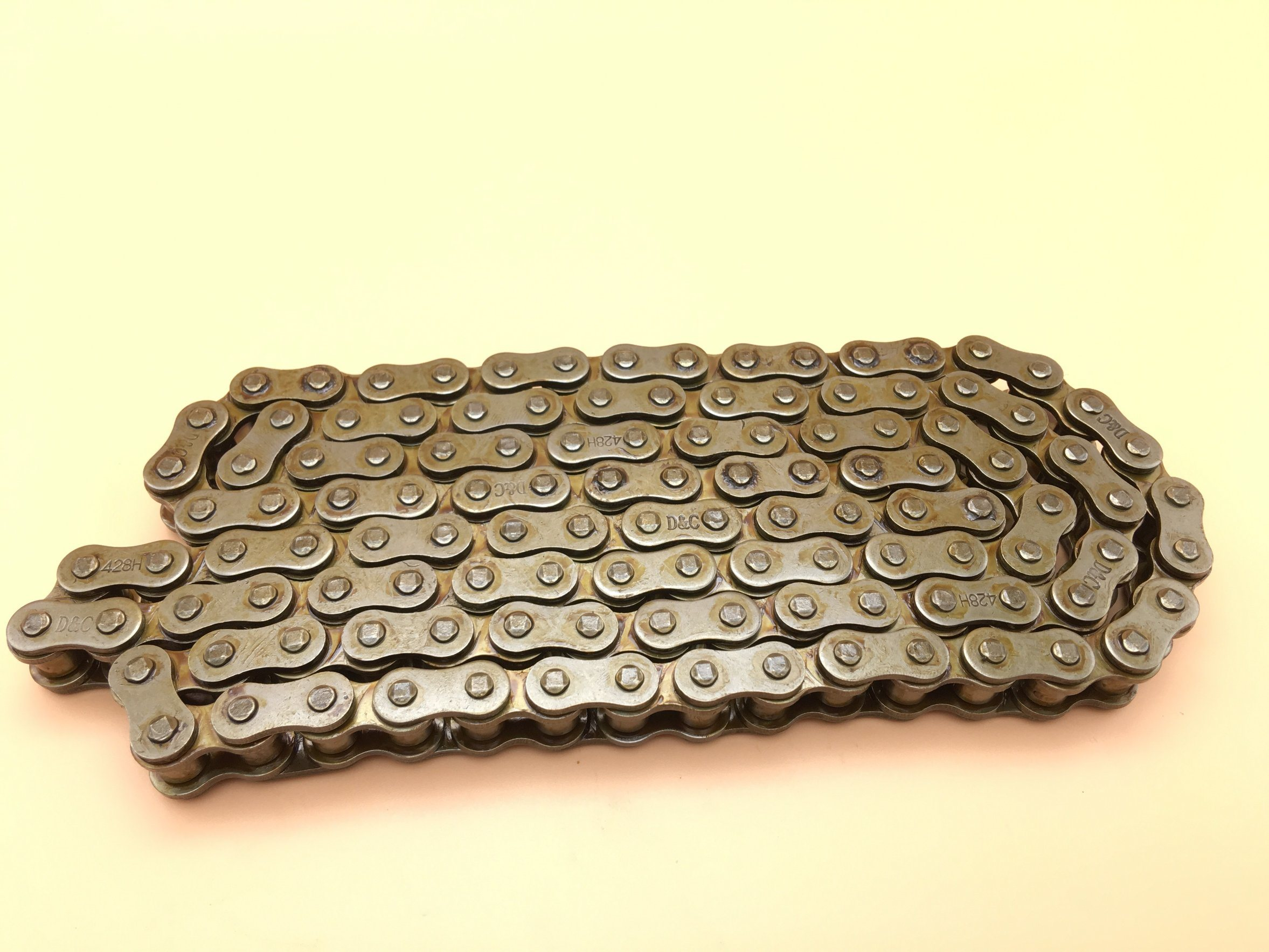 Motorcycle Chain 428h with 1.76mm Thickness