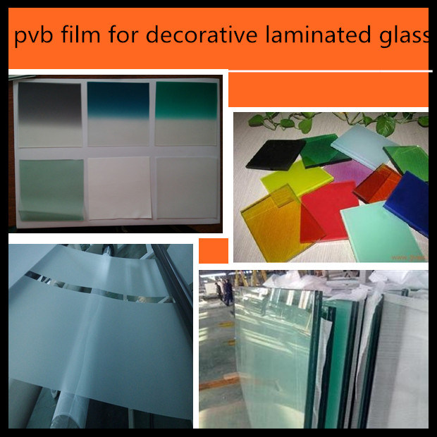 Blue/Green/Grey on Green Automotive Grade PVB Film