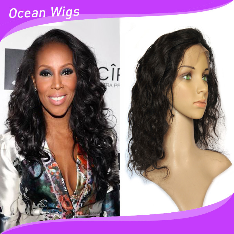 Top Quality 100% Human Hair Full Lace Wig