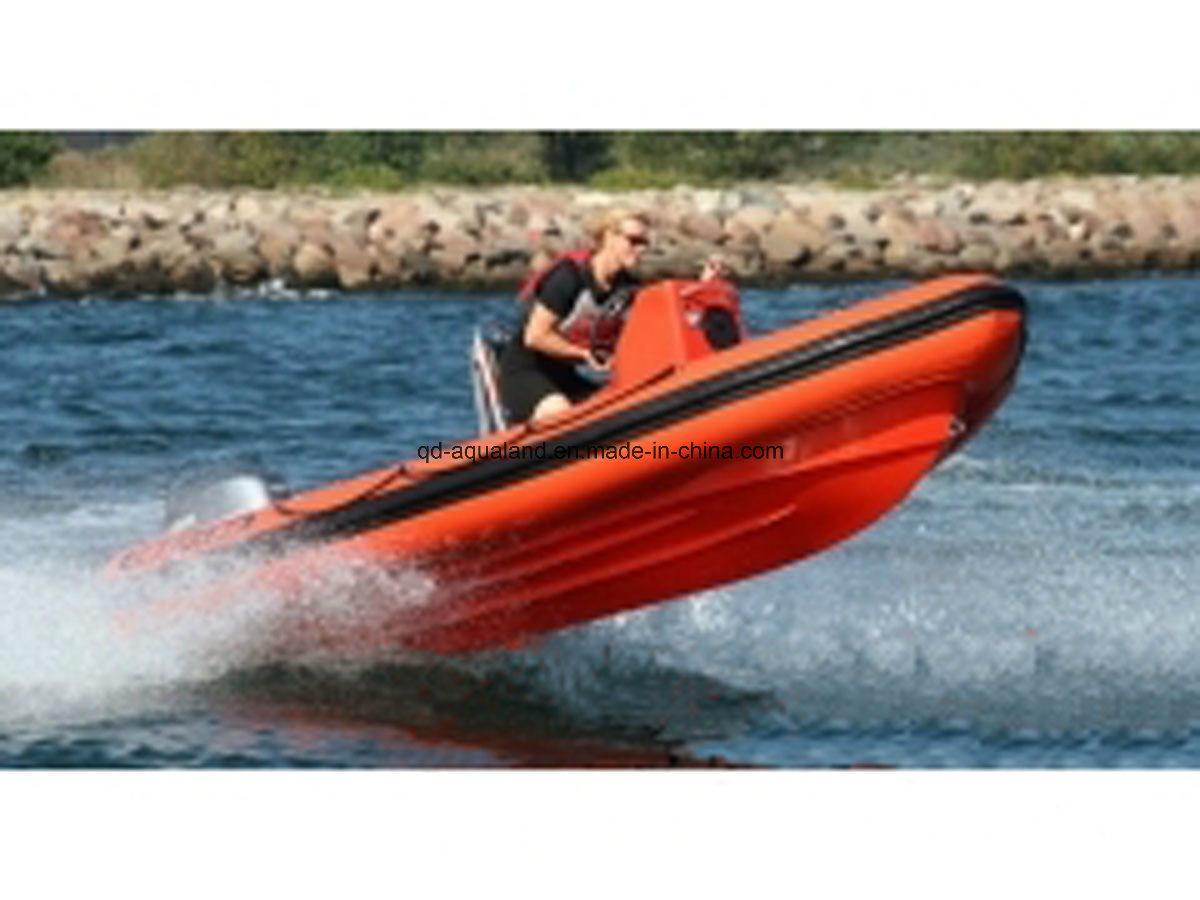 Aqualand 19feet 5.8m Rigid Inflatable Military Boat/Rib Patrol Boat (RIB580T)