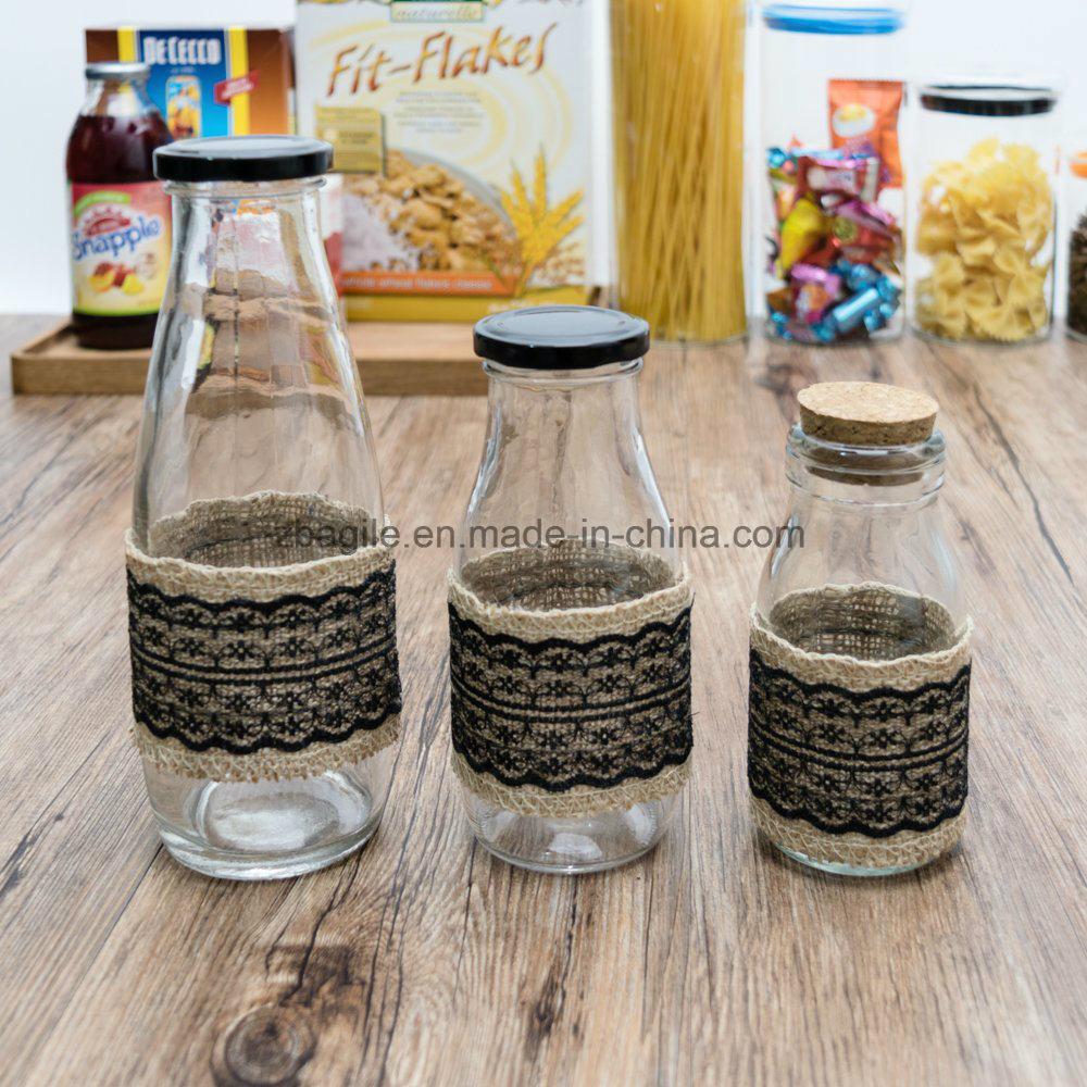 Factory Wholesale Liquid Glass Bottle Glassware (100102)