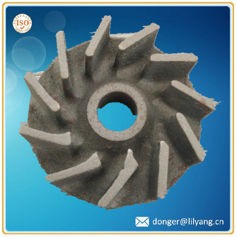 Cast Iron Valve Parts, Impeller Valve for Pump