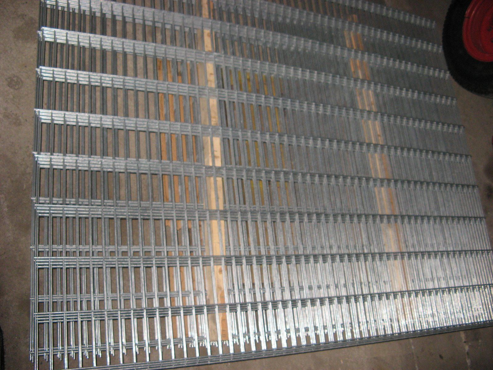358 Welded Security Fence Prison Mesh / Powder Coated Security Fence
