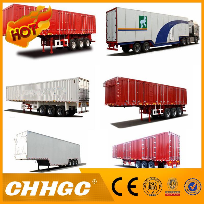 Chhgc Hot Sale New Type Van/Box Carrying Beverage Semi Trailer