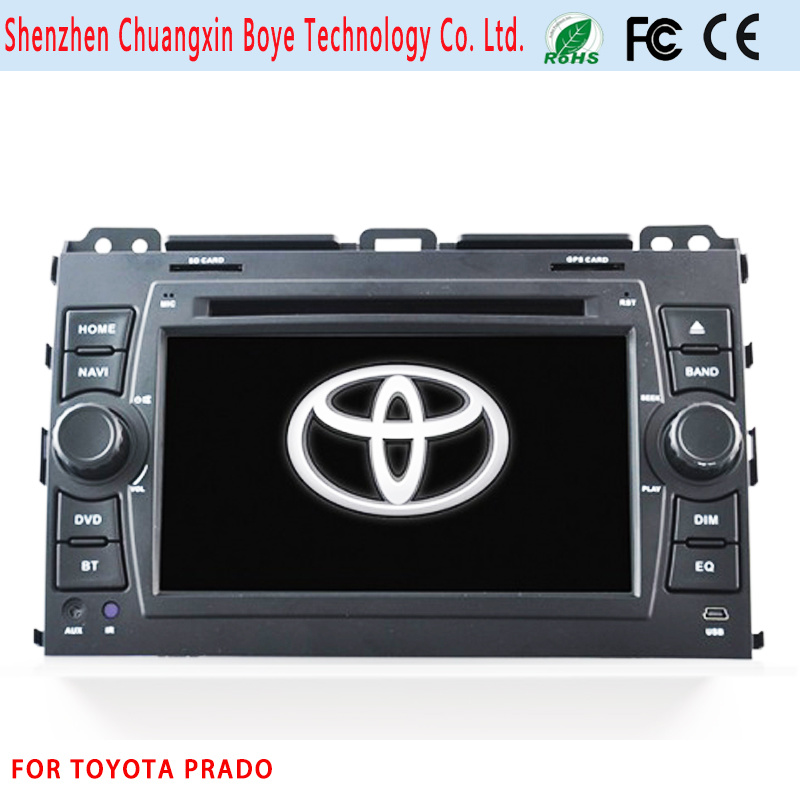 in Car DVD GPS Multimedia for Toyota Prado