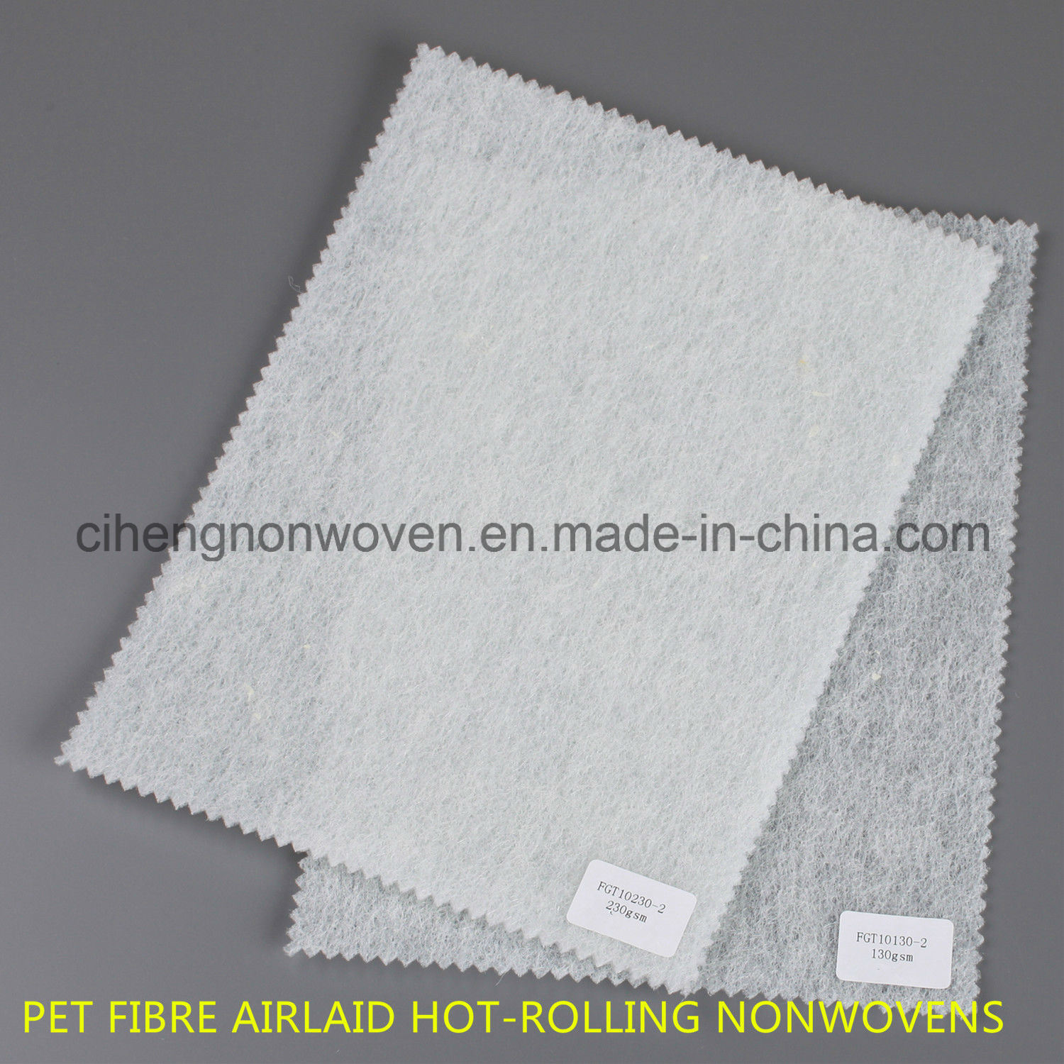 Pet Fibre Airlaid Hotrolling Nonwovens