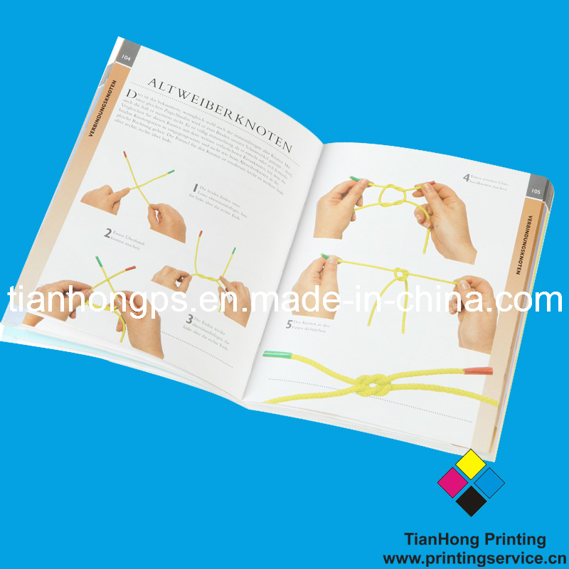 Soft Cover Book Printing, Perfect Binding (OEM-SC003) , Full Color Printing