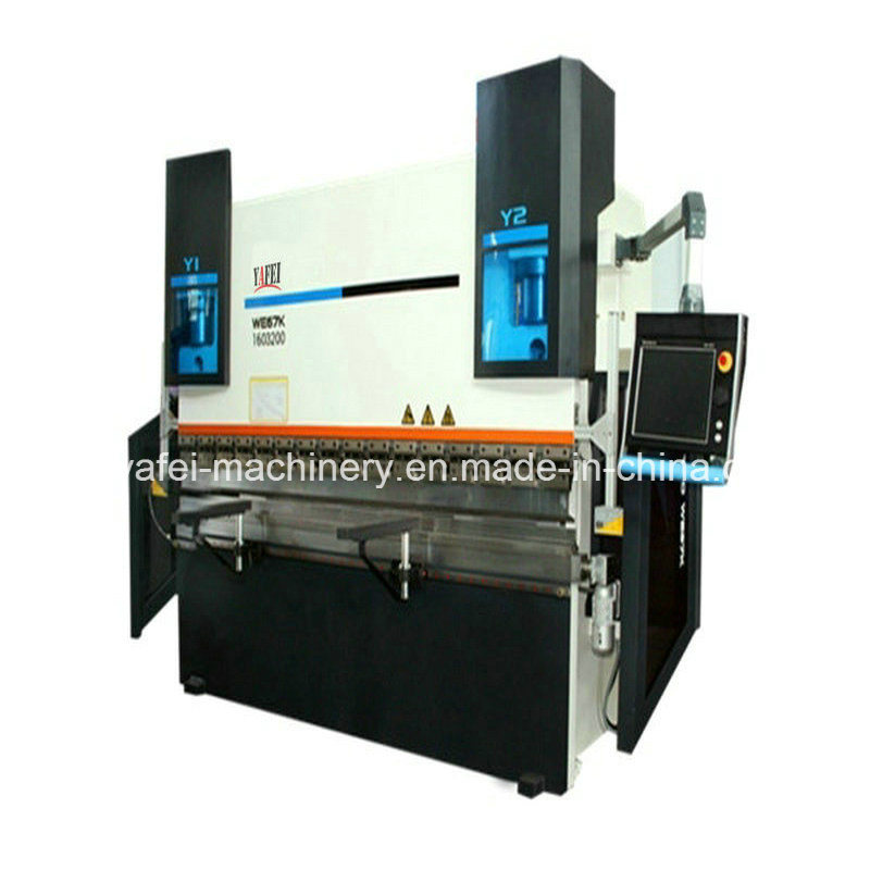 We67k -100/3200 CNC Hydraulic Press Brake