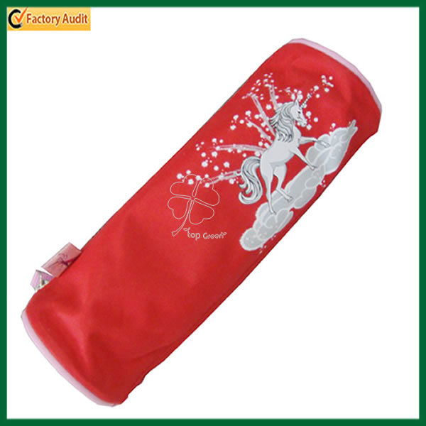Beautiful Zippered Red Pen Bag (TP-PCB008)