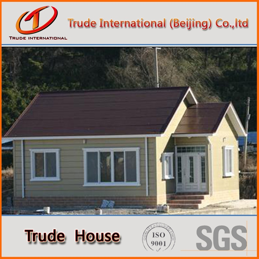 Low Cost Customized Light Gauge Steel Frame Modular Building/Mobile/Prefab/Prefabricated Family Villa