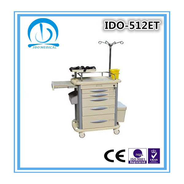 ISO Ce Approved Hospital Emergency Trolley