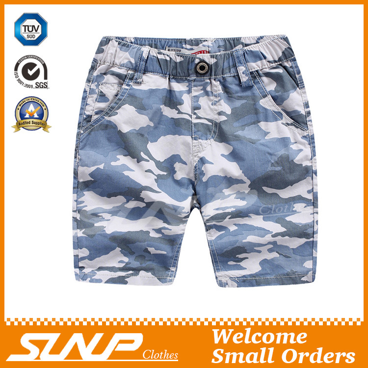 100% Cotton Shorts Pants in Children Clothing