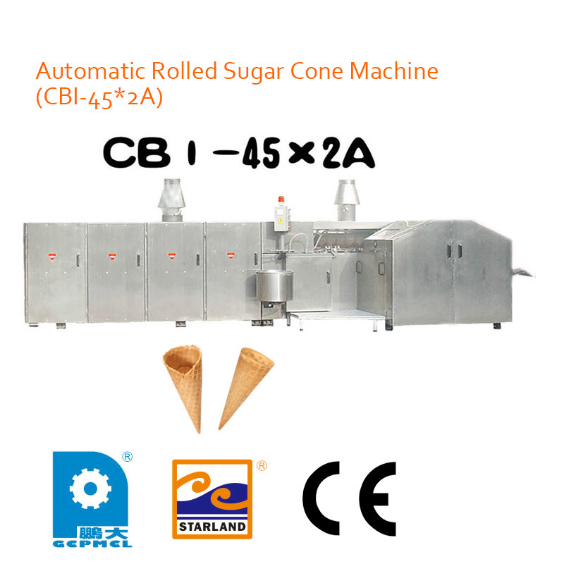 Automatic Rolled Sugar Cone Machine (CBI-45*2A)