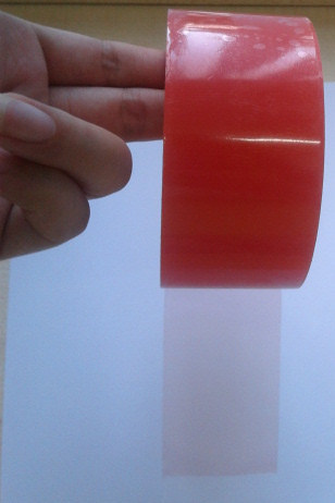 Double Side Red Polyester Tape for Electronics