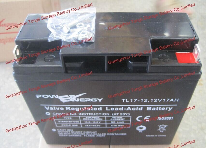 12V17ah VRLA Sealed Lead Acid Maintenance Free UPS Battery