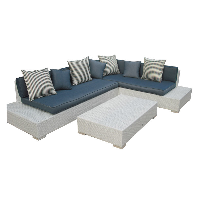 Wicker Patio Sofa Outdoor Rattan Furniture Chair Table Home Garden Furniture Wicker Furniture Rattan Furniture (Hz-BT005)