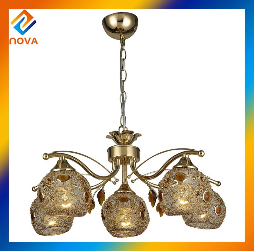 Tranditional Indoor Brass Chandelier Pendant Light