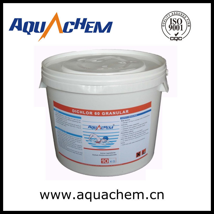 Sodium Dichloroisocyanurate 60% Chlorine Pool and SPA
