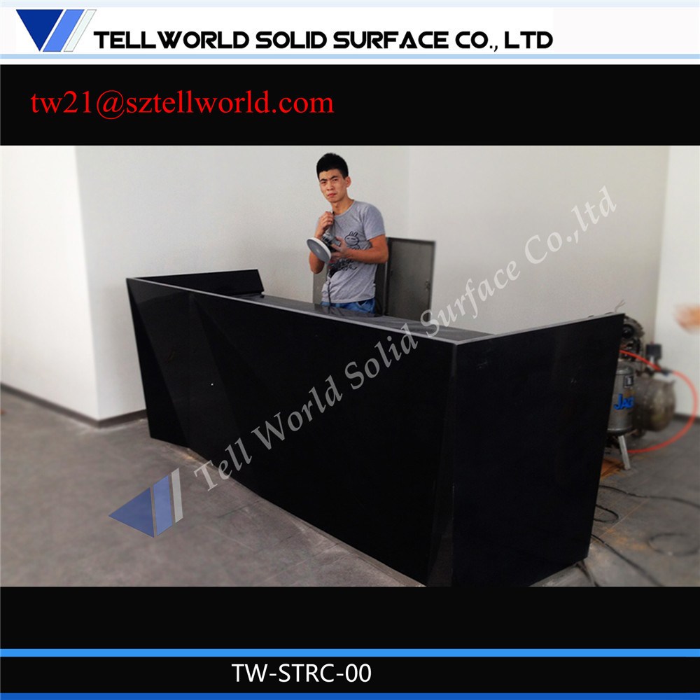 Tw Office Furniture Customed Reception Counter Desk
