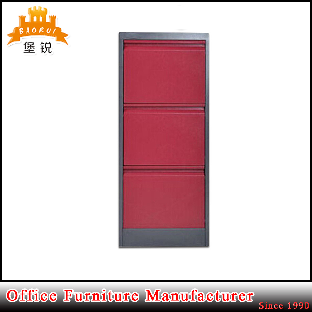 High Quality European Standard Legal Letter Size Steel 3 Drawers Archive Filing Cabinet