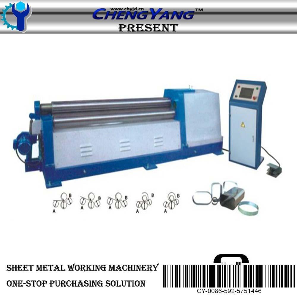 cnc plate rolling machine