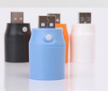 USB Mini Portable LED Lamp Flashlight Charging Treasure