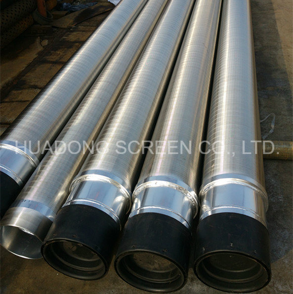High Quality Wedge Wire Screen Johnson Pipe for Deep Well Sand Control
