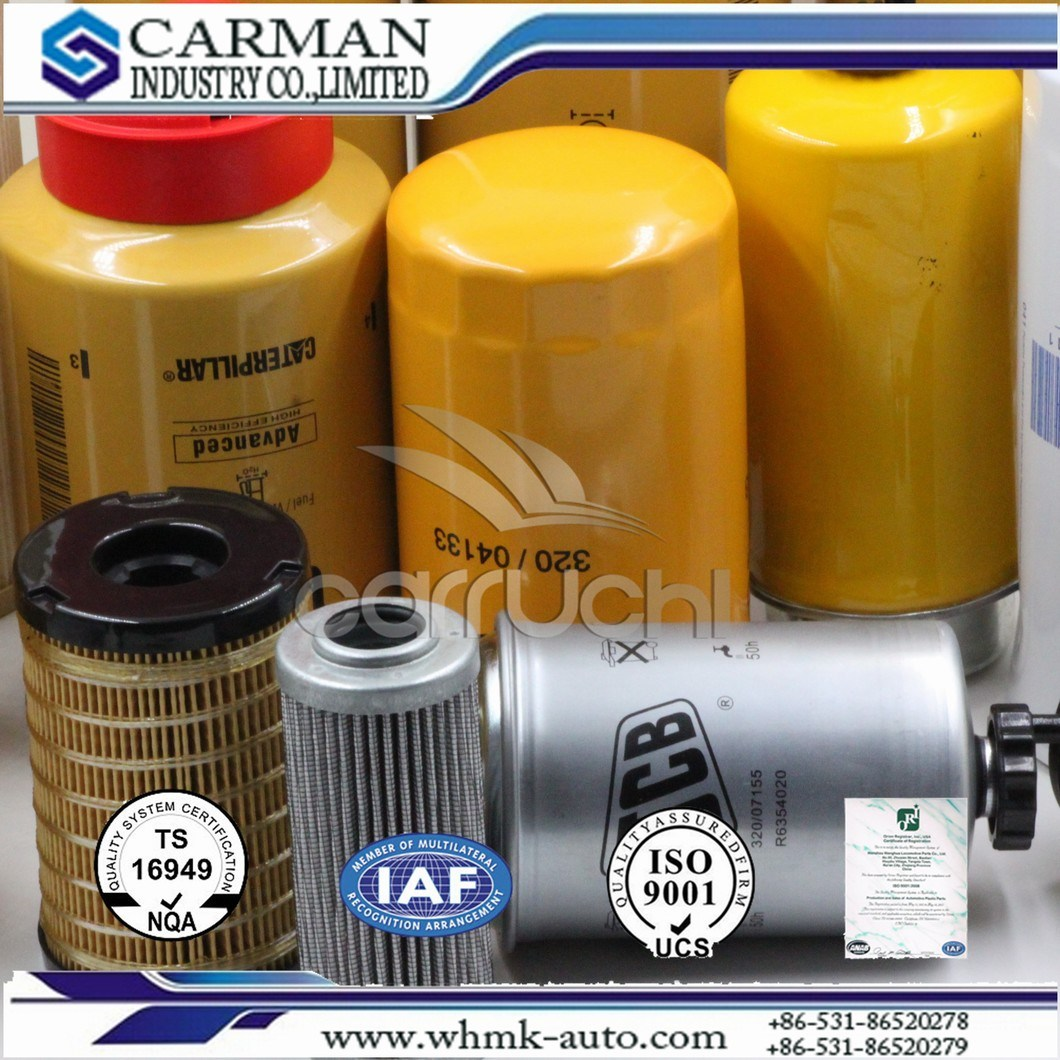 Oil Filter Filters, for Construction Machinery, Filters for Auto, Auto Parts, Hydraulic Oil Filter