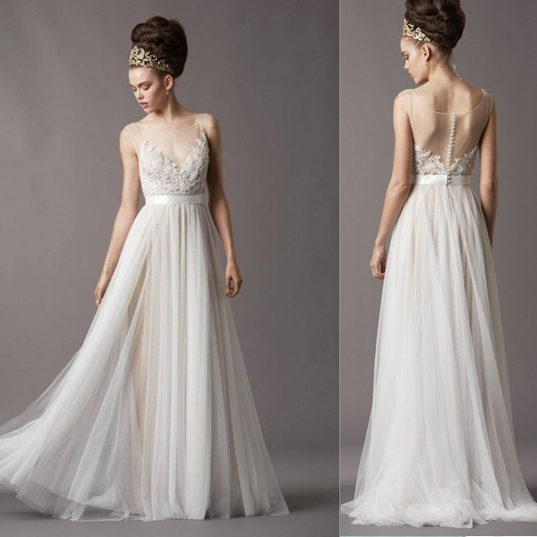 21 stylish wedding dresses of 2015 london beep for Sexy summer wedding dress