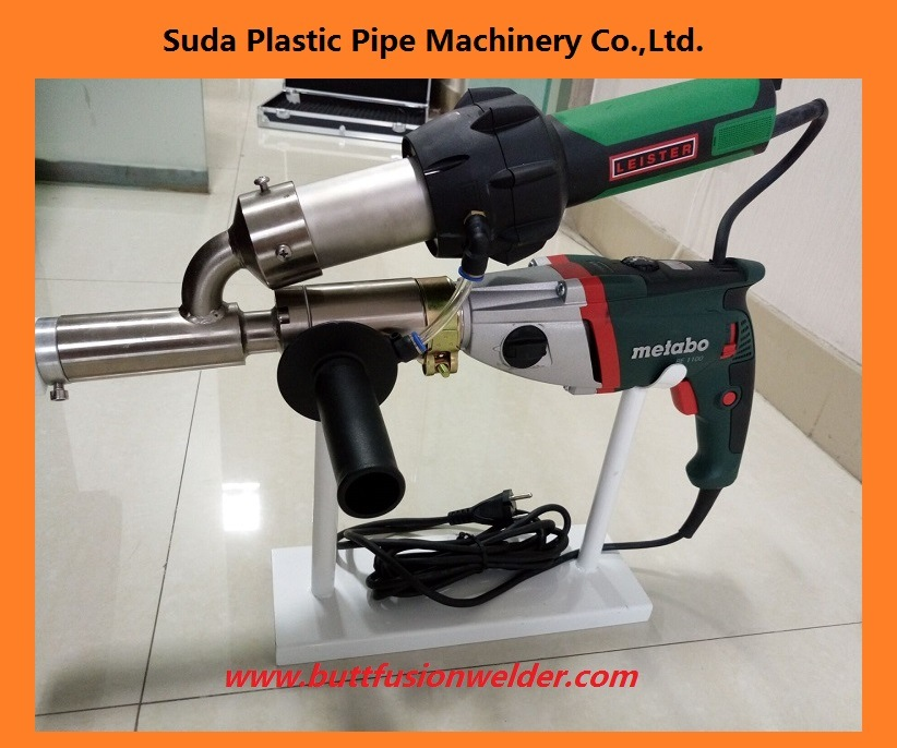 Plastic Hand Extruder for Welding PP PE PVC Sheet