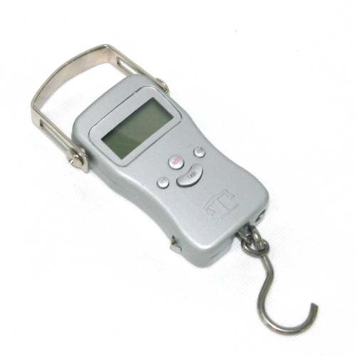 Qh Digital Fishing Scale with Aluminum Outer and Temperature Display (ocs-2)