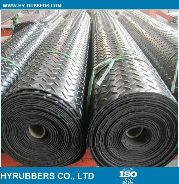 China Colourfull Anti-Slip Rubber Sheet Manufacturer