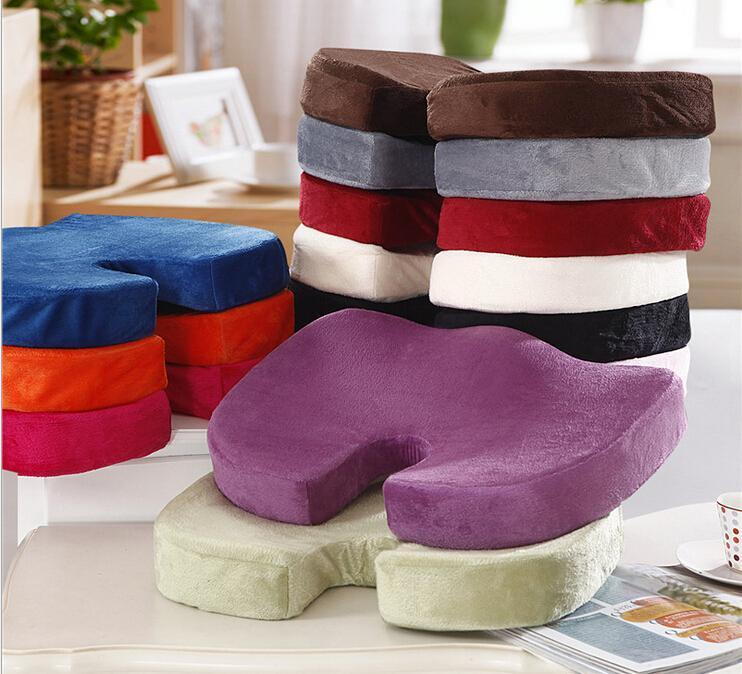 100% Polyurethane Foam Coccyx Orthopedic U Shape Cushion