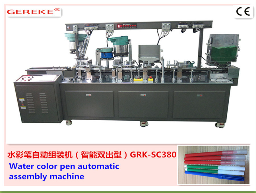 Water -Colour Pen Automatic Assembly and Filling Machine