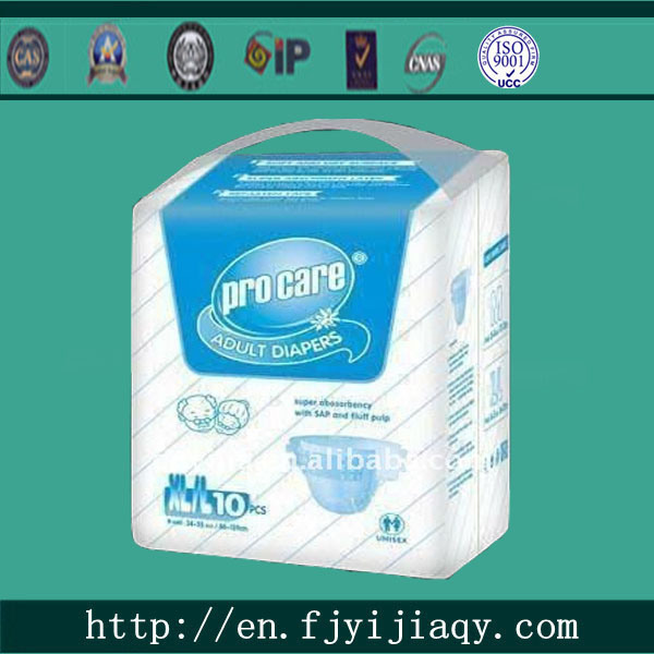 China Incontinence Diaper, Disposable Adult Diaper