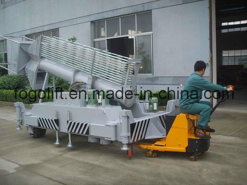 20 Meters Tiltable Electric Telescopic Hydraulic Platform Lift