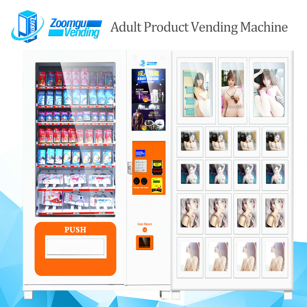 Double Cabinets Sexy Toy Vending Machine S800-10c+19s (22SP)