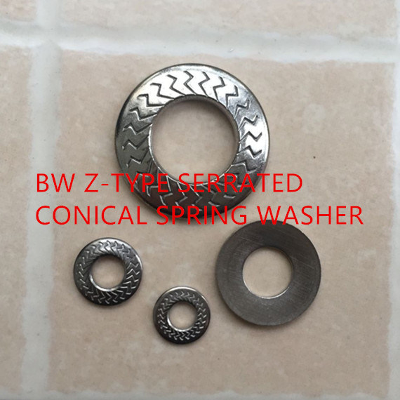 Z-Type Serrated Conical Spring Washers