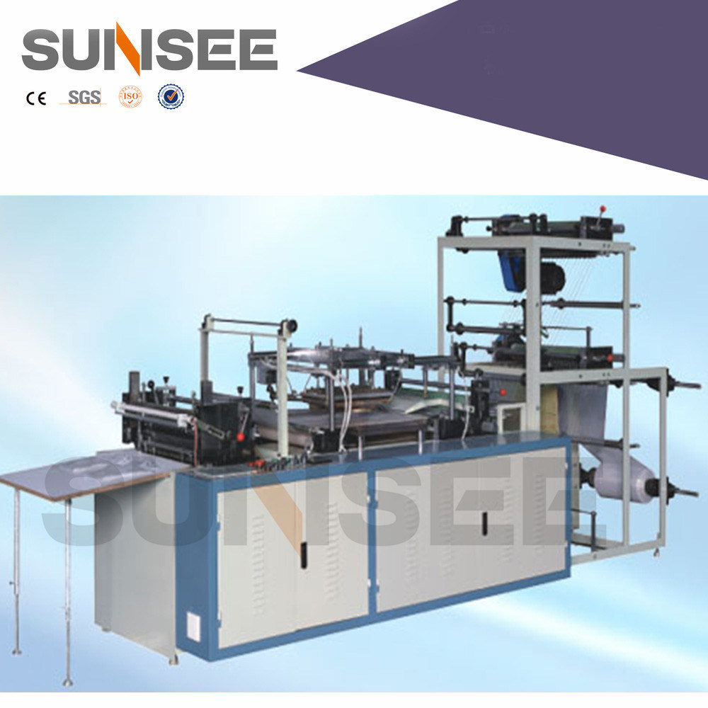 Double Layer PE Disposable Plastic Gloves Making Machine (CE)