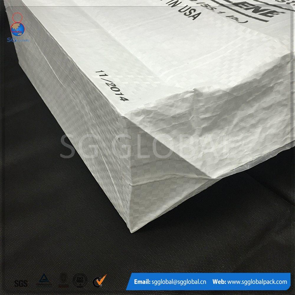 30kg Waterproof Cement Polypropylene Woven Valve Bag