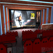 2015 Guangzhou Hot Sale Xd Cinema Sumilator 7D Cinema 9d Movies
