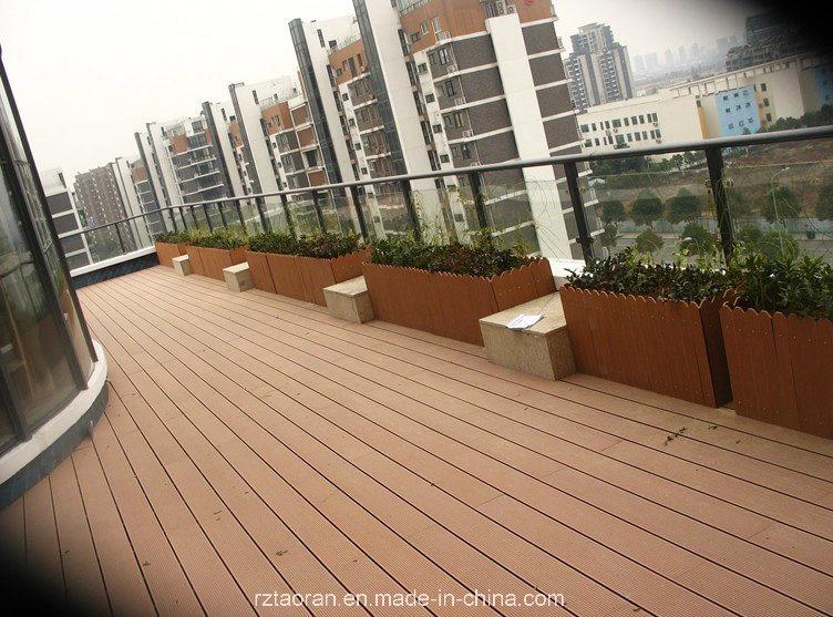 Manufacture Wood Plastic Composite Decking Flooring