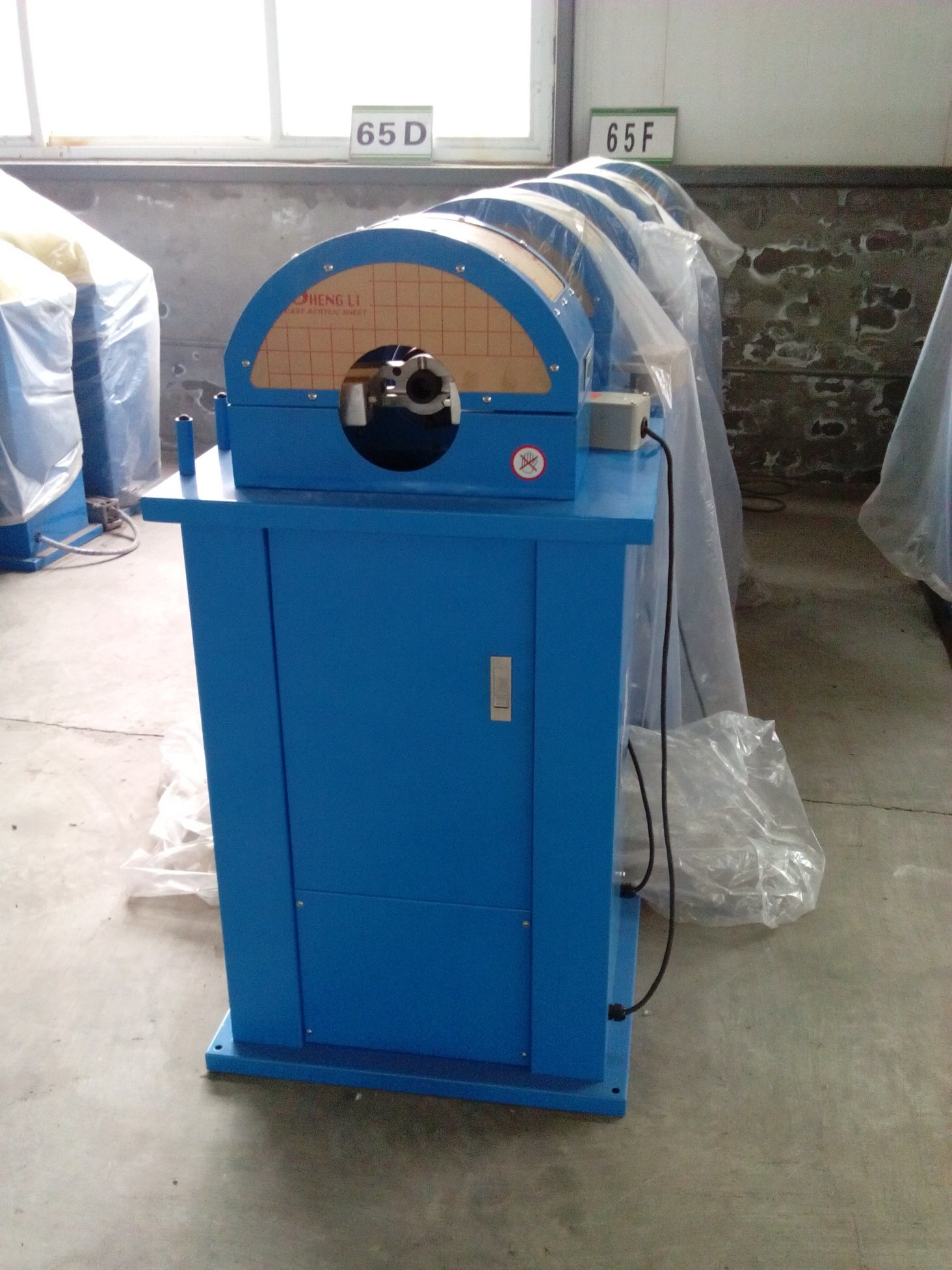 Hydraulic External & Internal Hose Stripping Machine Km-65f