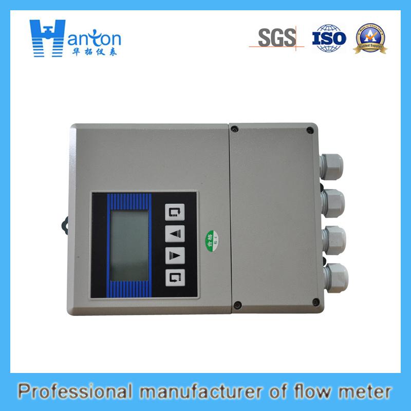 Hanton Carbon Steel Fixed Ultrasonic (Flow Meter) Flowmeter
